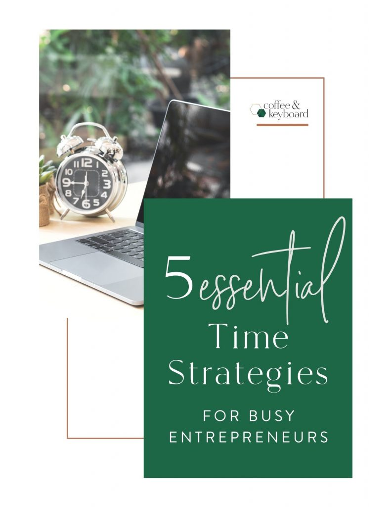ebook cover time strategies for busy women