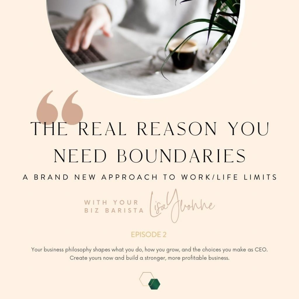 setting business boundaries podcast artwork