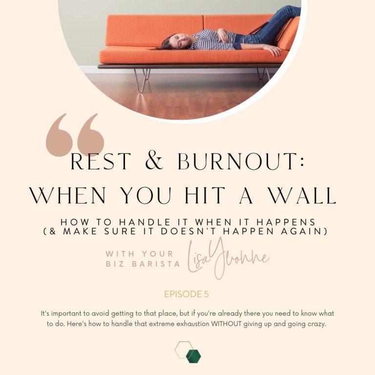 Ep 5: Entrepreneurial Burnout